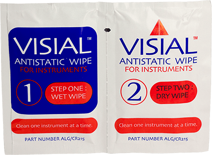 Image of ALG/CR215 Visial Antistatic Wipe